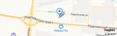 Rock School на карте Барнаула