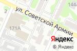 Схема проезда до компании У Оганнеса в Барнауле