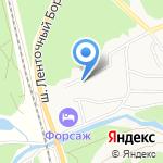 Церковь Тихвинской иконы Божией Матери на карте Барнаула
