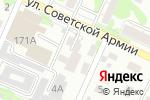Схема проезда до компании 12 Стульев в Барнауле
