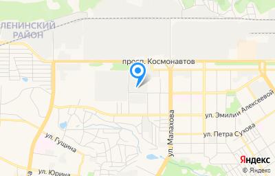Местоположение на карте пункта техосмотра по адресу г Барнаул, ул Германа Титова, д 58В