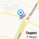 Карат на карте Барнаула