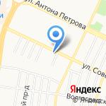 Азурит Строй на карте Барнаула