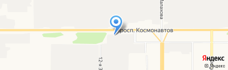 Автопартнер на карте Барнаула