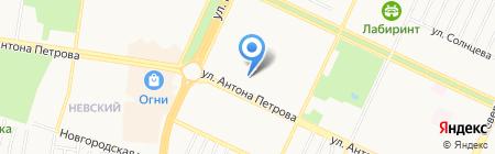 Имидж-студия на карте Барнаула