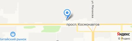 Обжорка на карте Барнаула