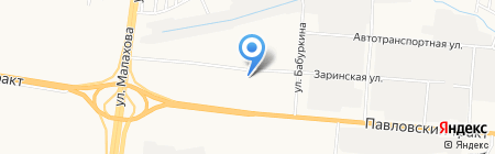 Жилищный участок №1 на карте Барнаула
