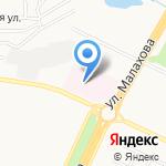 Цигун на карте Барнаула