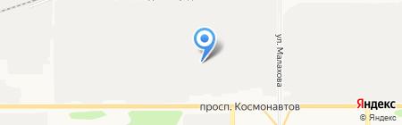 Элерон на карте Барнаула