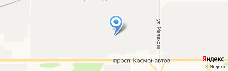 Лейбл Принт на карте Барнаула