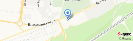 Сладкий мир на карте Барнаула