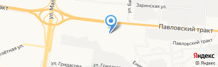 Удача на карте Барнаула