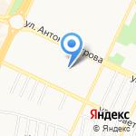Родник на карте Барнаула