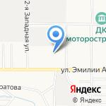 Айти Хранители на карте Барнаула
