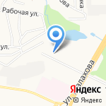 Сиада на карте Барнаула