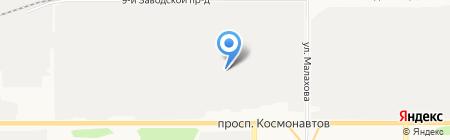 Тонар плюс на карте Барнаула