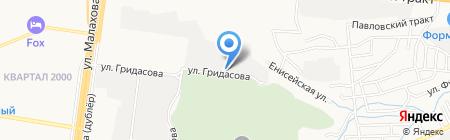 Компания по производству изделий из массива на карте Барнаула