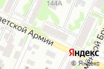 Схема проезда до компании Детская городская поликлиника №7 в Барнауле
