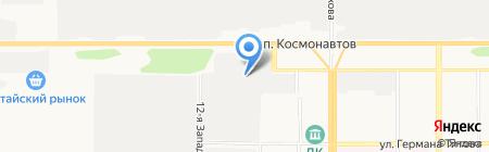 Барнаульское ПАТП на карте Барнаула