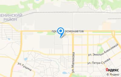 Местоположение на карте пункта техосмотра по адресу г Барнаул, пр-кт Космонавтов, д 53