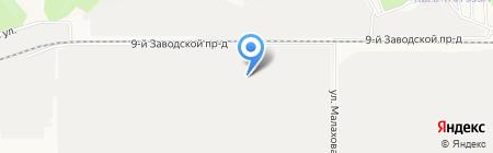 Леко на карте Барнаула