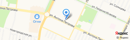 Мастер-Класс на карте Барнаула