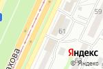 Схема проезда до компании Эстет в Барнауле