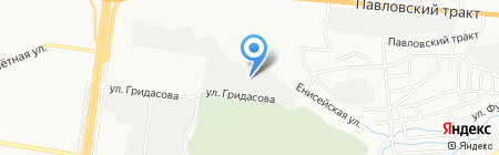 ЗАВОД СИБИРСКИЙ ТРАКТОР на карте Барнаула