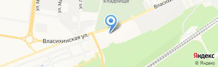 Магазин конфет и сухофруктов на карте Барнаула