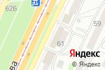 Схема проезда до компании Слово в Барнауле