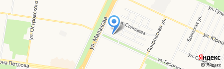 Bella на карте Барнаула