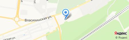Батыр-хаджы на карте Барнаула