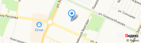 Детский сад №149 Родничок на карте Барнаула