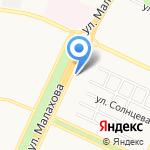 Слово на карте Барнаула