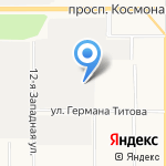 АлтайКранСервис на карте Барнаула