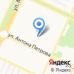 Родничок на карте Барнаула