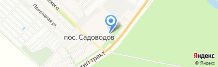 Алтайский политехнический техникум на карте Барнаула