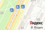 Схема проезда до компании Рыбацкий в Барнауле