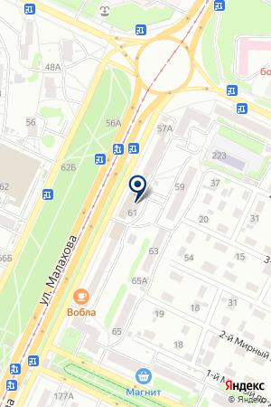 АДВОКАТСКАЯ КОНТОРА АЛТАЙСКАЯ КРАЕВАЯ КОЛЛЕГИЯ АДВОКАТОВ на карте Барнаула