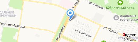 IMPLOZIA на карте Барнаула