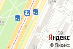 Схема проезда до компании АльфаВет в Барнауле