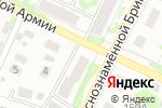 Схема проезда до компании НеБо в Барнауле