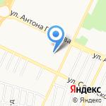 Боевые Перчатки на карте Барнаула