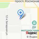 ПиК на карте Барнаула