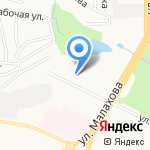 Регионстрой на карте Барнаула
