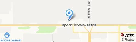 Банкомат Банк УРАЛСИБ на карте Барнаула