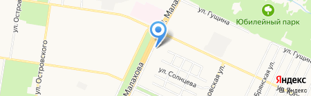 По-пивку на карте Барнаула