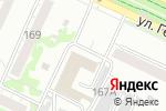 Схема проезда до компании Toyota Lexus в Барнауле