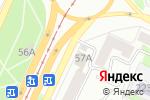 Схема проезда до компании Дамиана в Барнауле