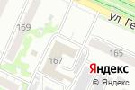 Схема проезда до компании Массажный кабинет в Барнауле